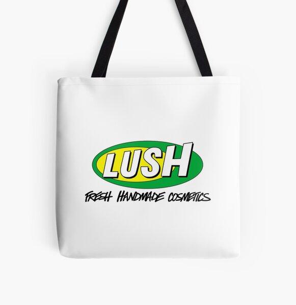 Retro Lush Cosmetics 90s Design All Over Print Tote Bag