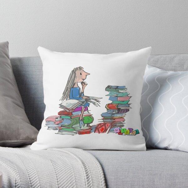 Matilda Wormwood Throw Pillow