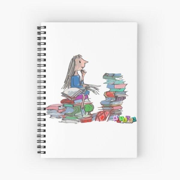 Matilda Wormwood Spiral Notebook