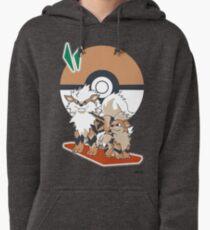 Pokemon Growlithe & Arcanine Pullover Hoodie