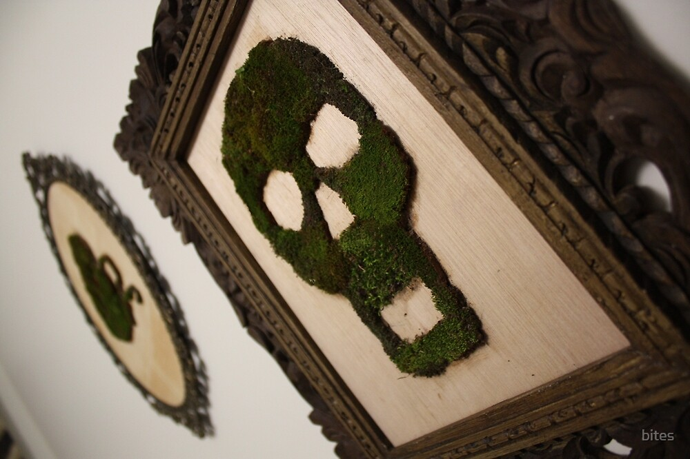 Moss Art - Life Creeps by bites