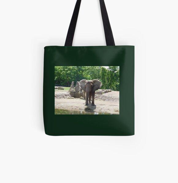Elephant photograph 110  All Over Print Tote Bag