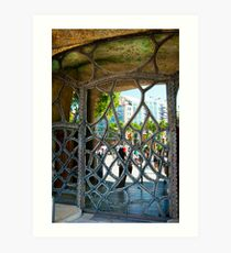 DOOR IN BARCELONA 5 Art Print
