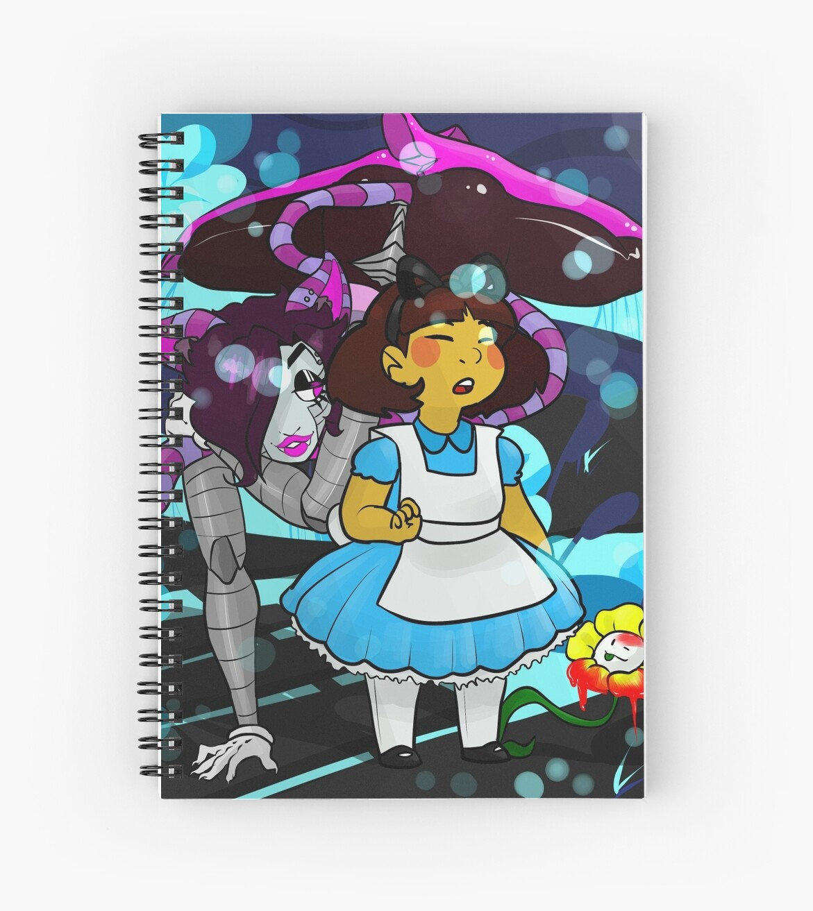 Undertale - Frisk in Wonderland by bailey1rox