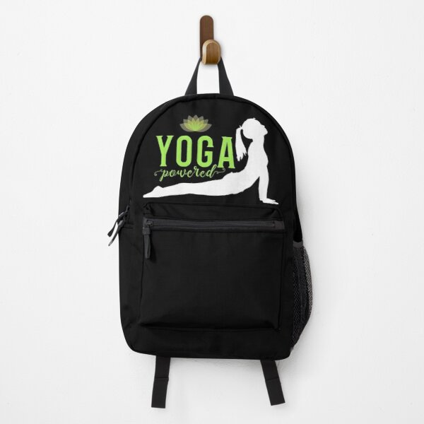 'Yoga Powered' Backpack by tw2us
