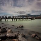 Christchurch New Zealand Jetty by Margaret Metcalfe