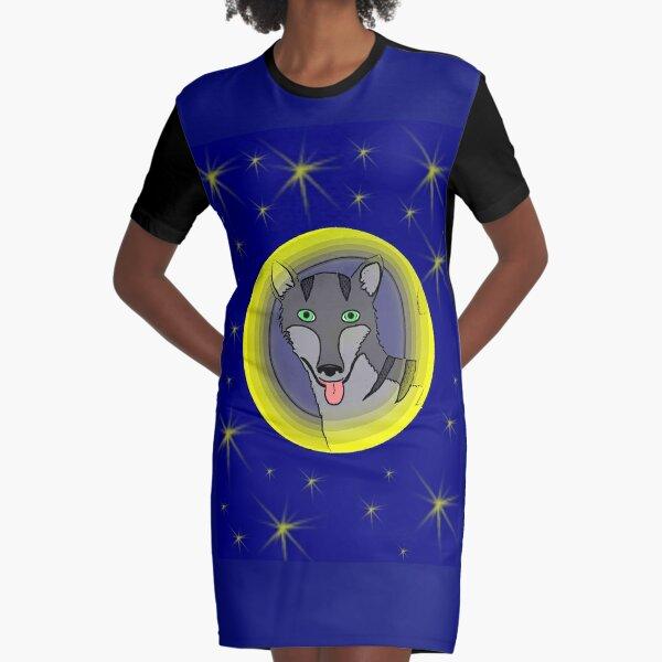 Tiger Wolf  Graphic T-Shirt Dress