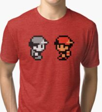 Red & AJDNNW Tri-blend T-Shirt