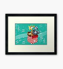 Magical Musical Animal Box Framed Print