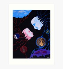 Melody of Love Art Print