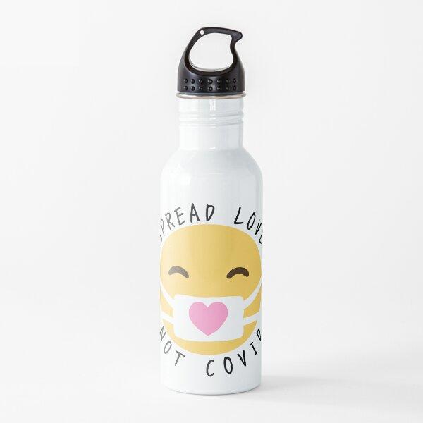 Spread Love, Not Covid Water Bottle