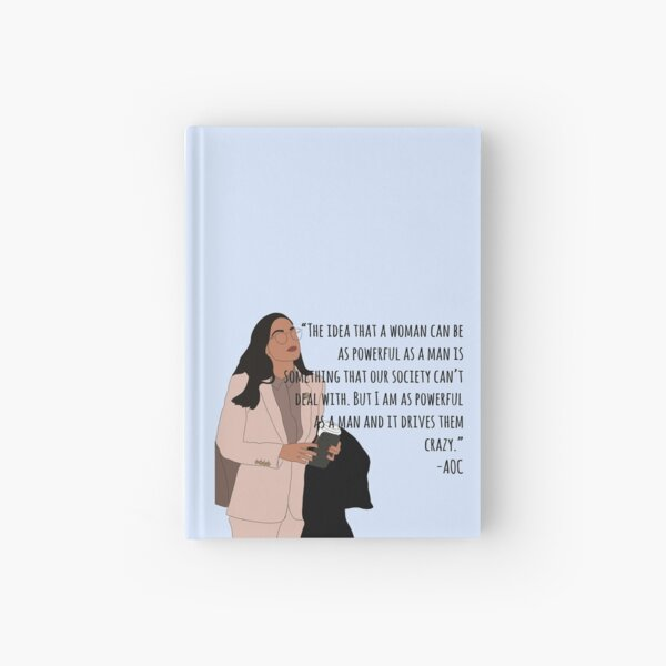 AOC Quote  Hardcover Journal
