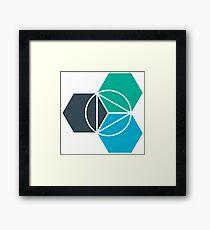 IBM Bluemix Framed Print