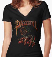 Daggerfall The Elder Scrolls 2.0 Women's Fitted V-Neck T-Shirt