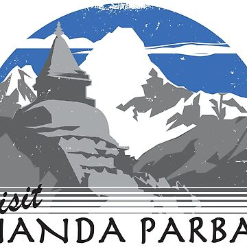 Visit Nanda Parbat by BlazeComics