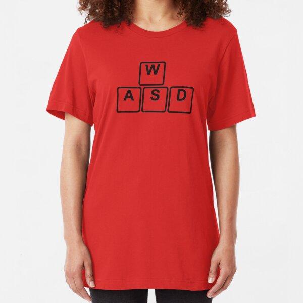 PC Gamer's WASD Tee Slim Fit T-Shirt
