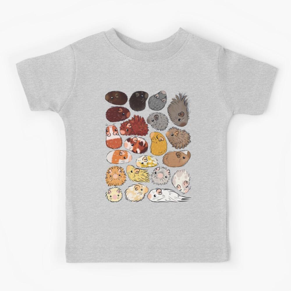 Guinea Pig Gradient Kids T-Shirt