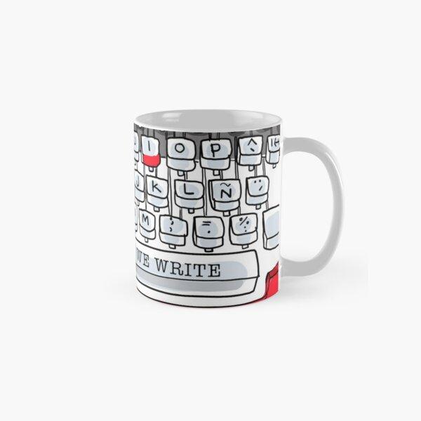 An diesem Tag schreiben wir Schreibmaschine Tasse (Standard)