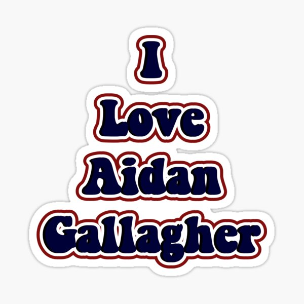 Aidan Gallagher Pegatina
