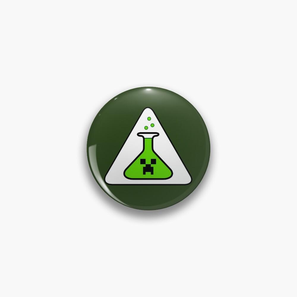 Creeper's Lab beaker Pin