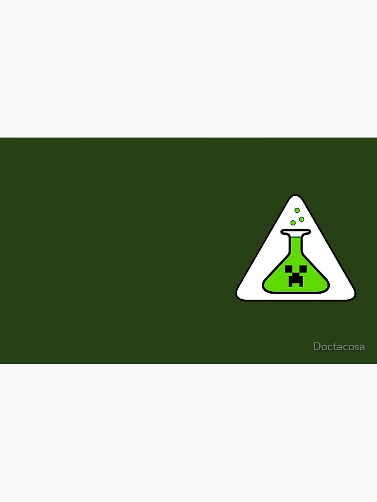 Creeper's Lab beaker by Doctacosa