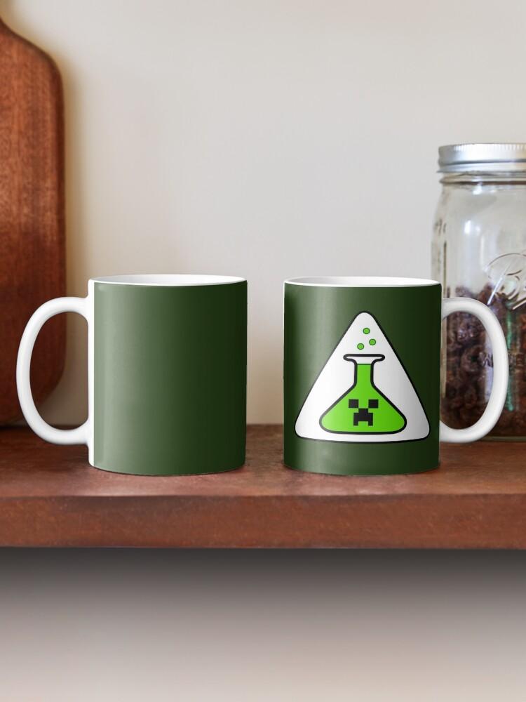 Alternate view of Creeper's Lab beaker Mug