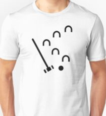 Croquet game Unisex T-Shirt