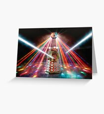Disco Dalek Greeting Card