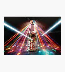 Disco Dalek Photographic Print