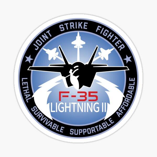 F-35 Lightning II Join Strike Fighter Sticker