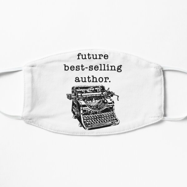 Future bestselling author, Writer Sticker, Writing, Writers Block, Writer, Writer Gift, Writer Gifts, Write Lover, Gift for Writers, Gifts for Writers, Gift for Writer Mask
