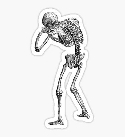 Mr. Bones Sticker