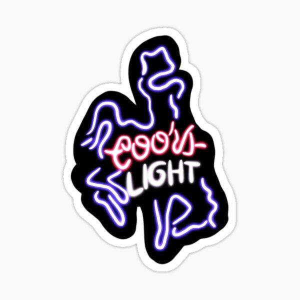 Coors Cowboy Sticker