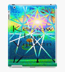Kernow bys vykken - Cornwall for ever iPad Case/Skin