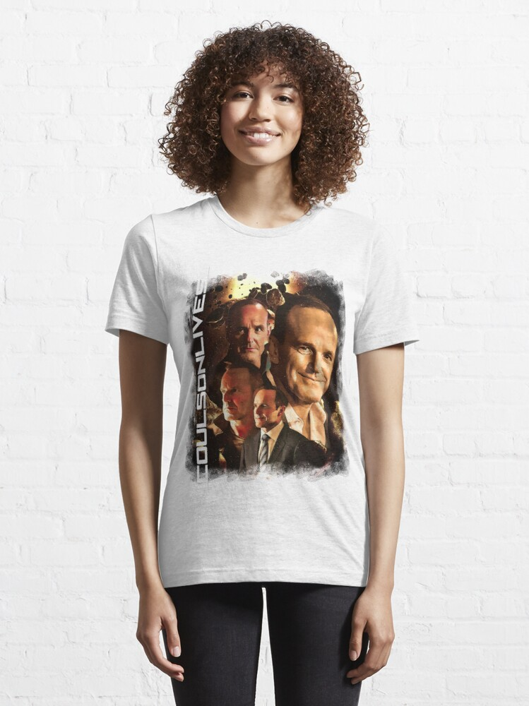 Alternate view of #CoulsonLives Essential T-Shirt