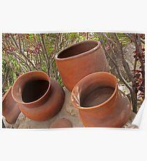 Ceramic Pots Poster