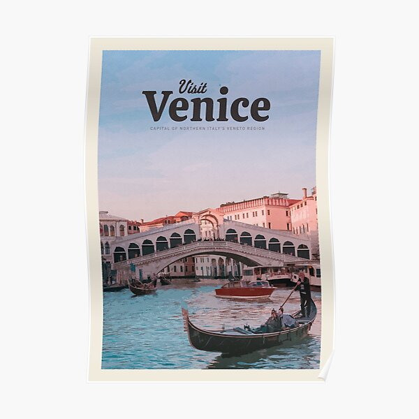 Visit Venice  Poster