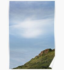 Island Mountain Landscape Poster