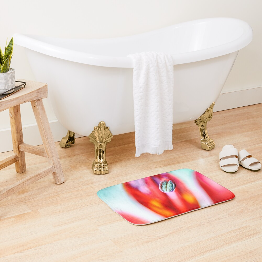 Flower Mystical  Bath Mat