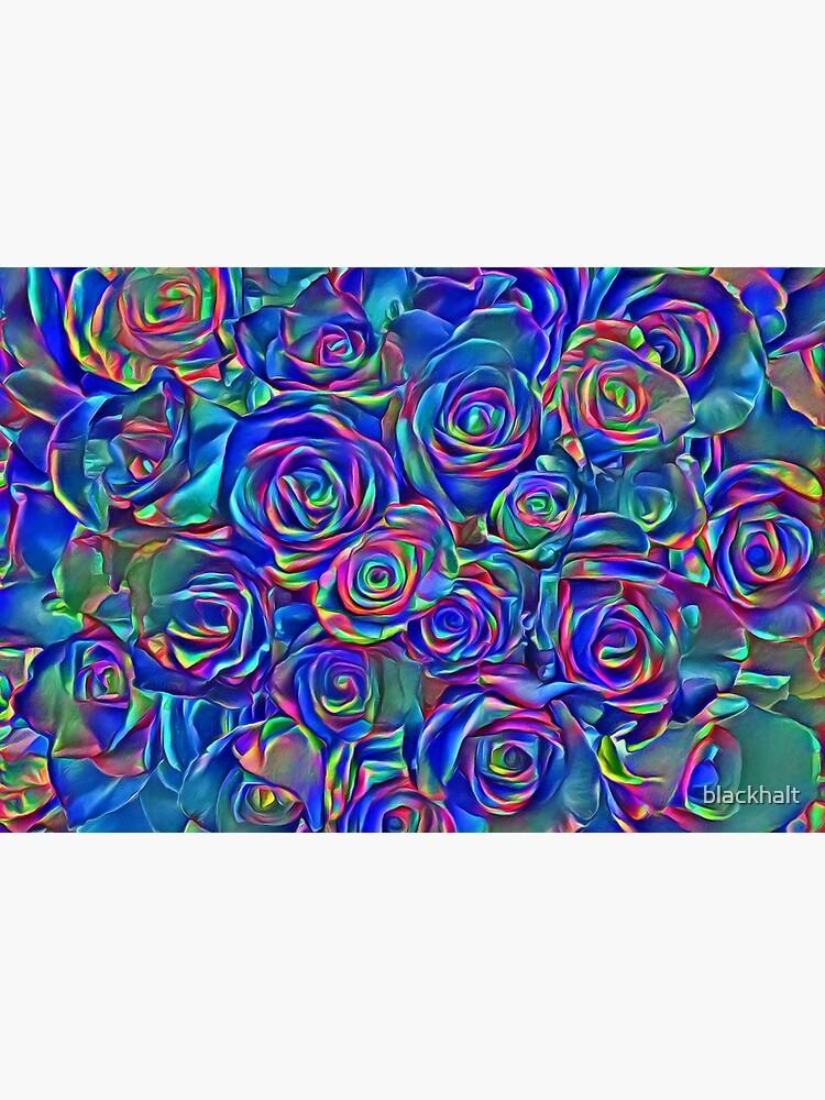 Roses of cosmic lights by blackhalt