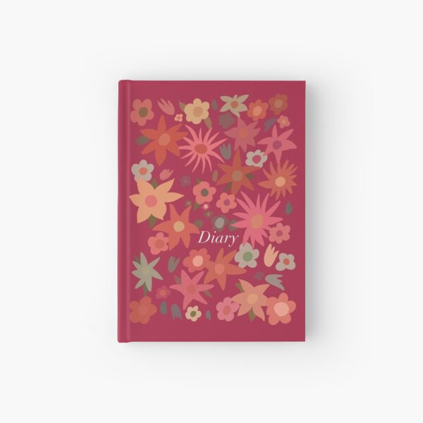 Mamma Mia Diary - Donna's floral journal. Hardcover Journal
