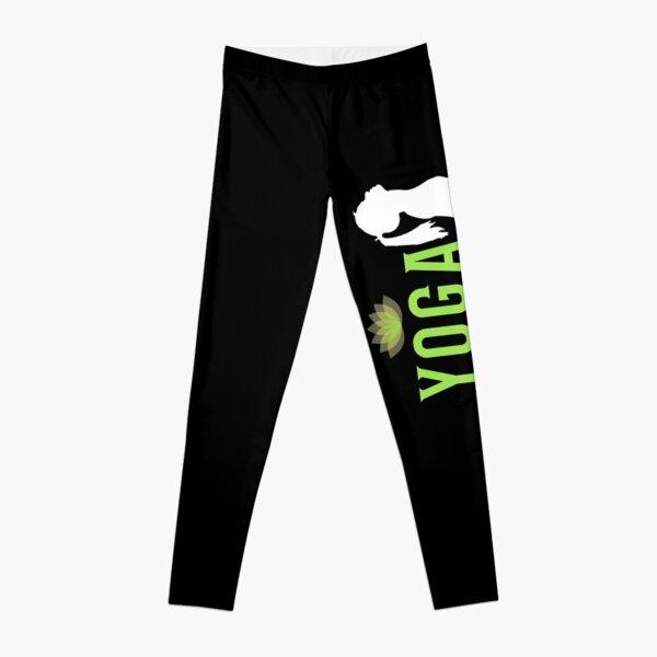'Yoga Powered' Leggings by tw2us