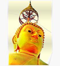 Budda head  Poster