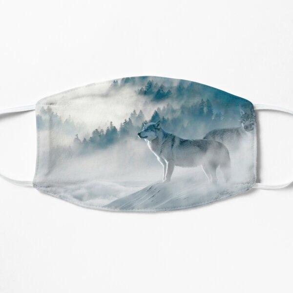 Wölfe im Nebel Maske