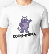 Eek the Cat - Koom-Bye-Ya - Black Font Unisex T-Shirt