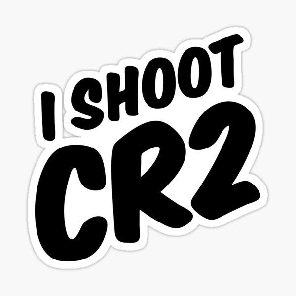I shoot CR2 Sticker