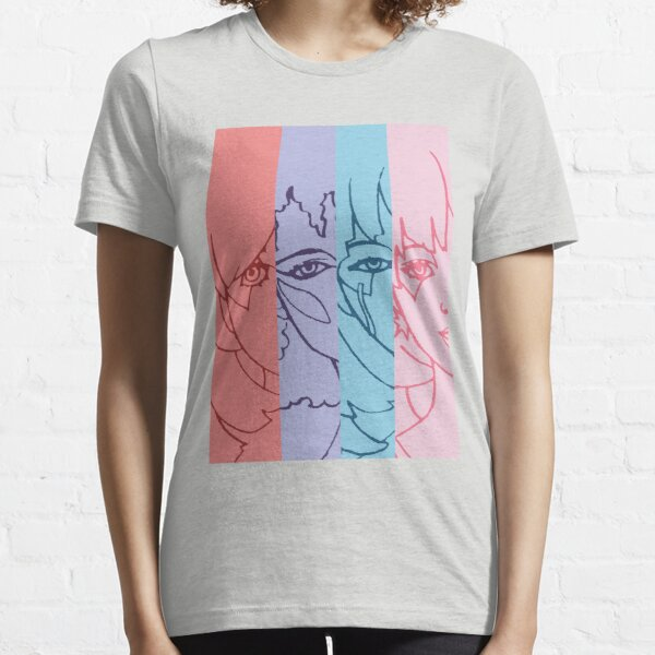 Jem and The Holograms - Group Striped - Color Essential T-Shirt