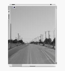 Empty Miles iPad Case/Skin