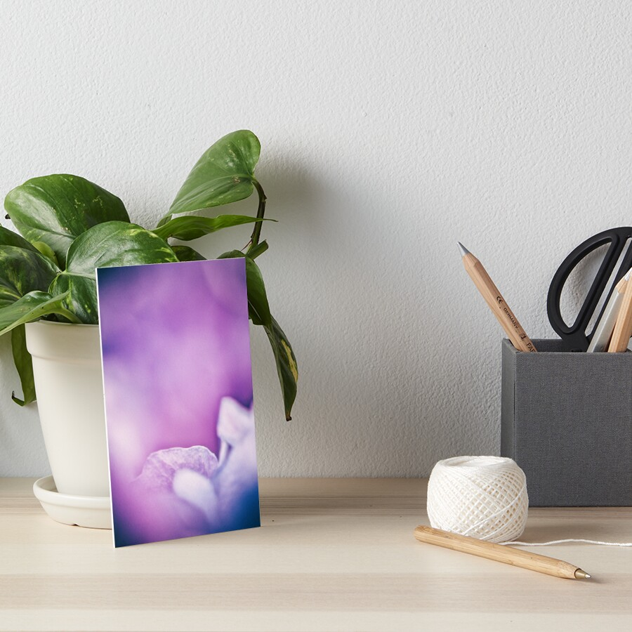 Flower Mystical Art Board Print