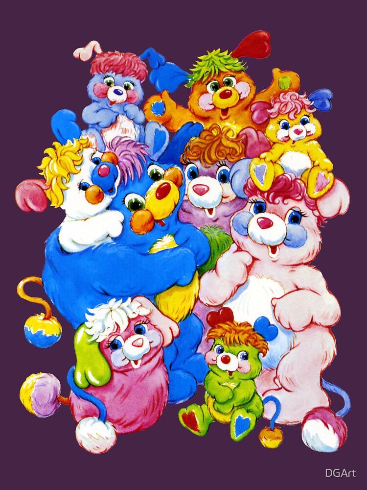 Popples - Group - Color   Unisex T-Shirt